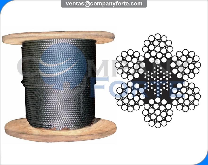 Cable de Acero Boa 6x19